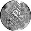 Česká jména - Miloslava - velká stříbrná medaile 1 Oz