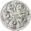 Muži 28. října - stříbro 1 Oz b.k.