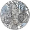 Nejkrásnější medailon I. Nové Město pražské - 50 mm Ag Proof