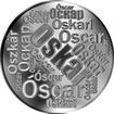 Česká jména - Oskar - velká stříbrná medaile 1 Oz