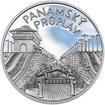 Panamský průplav - 100. výročí otevření stříbro proof