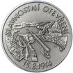 Panamský průplav - 100. výročí otevření stříbro patina