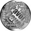 Česká jména - Pavel - velká stříbrná medaile 1 Oz
