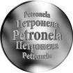 Slovenská jména - Petronela - velká stříbrná medaile 1 Oz