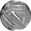 Česká jména - Pravoslav - velká stříbrná medaile 1 Oz