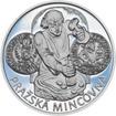 Pražská mincovna - stříbro 28mm Proof