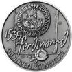 Pražská mincovna - stříbro 28mm patina