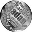 Česká jména - Radan - velká stříbrná medaile 1 Oz