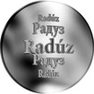 Slovenská jména - Radúz - velká stříbrná medaile 1 Oz