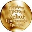 Česká jména - Řehoř - zlatá medaile