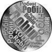 Česká jména - Robin - velká stříbrná medaile 1 Oz