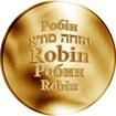 Česká jména - Robin - zlatá medaile