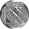 Česká jména - Sebastian - velká stříbrná medaile 1 Oz