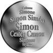 Česká jména - Šimon - stříbrná medaile
