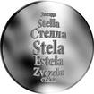 Česká jména - Stela - stříbrná medaile
