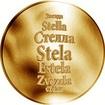 Česká jména - Stela - zlatá medaile