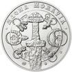 Svatopluk - kníže Velkomoravské říše - 1 Oz stříbro b.k.