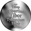 Česká jména - Tibor - stříbrná medaile