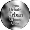 Slovenská jména - Urban - velká stříbrná medaile 1 Oz