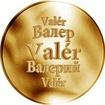 Slovenská jména - Valér - zlatá medaile