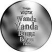 Česká jména - Vanda - stříbrná medaile