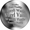 Slovenská jména - Vasil - velká stříbrná medaile 1 Oz