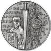 Velká Morava - 34mm stříbro patina