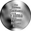 Česká jména - Vilma - stříbrná medaile