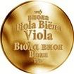 Česká jména - Viola - zlatá medaile