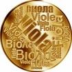 Česká jména - Viola - velká zlatá medaile 1 Oz