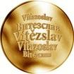 Česká jména - Vítězslav - zlatá medaile