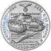 Vpád německých vojsk - 15. březen 1939 - 28 mm stříbro Proof