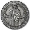 Korunovace Vratislava II českým králem - stříbro patina