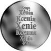 Česká jména - Xenie - stříbrná medaile