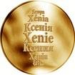 Česká jména - Xenie - zlatá medaile