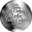 Česká jména - Žofie - stříbrná medaile