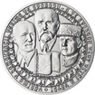 90. výročí vzniku ČSR - stříbro 1 Oz b.k.