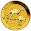 Zlatá mince Australian Kangaroo Gold Bullion 1/4 Oz 2017