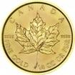 Zlatá mince Maple Leaf 1/4 Oz 2017