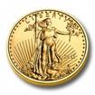 Investiční zlato American Eagle zlatá mince 1/4oz