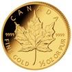 Investiční zlato Maple Leaf zlatá mince 1/2oz