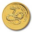 Investiční zlato Lunar II Snake zlatá mince 1oz
