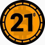 Logo Bitcoin 21