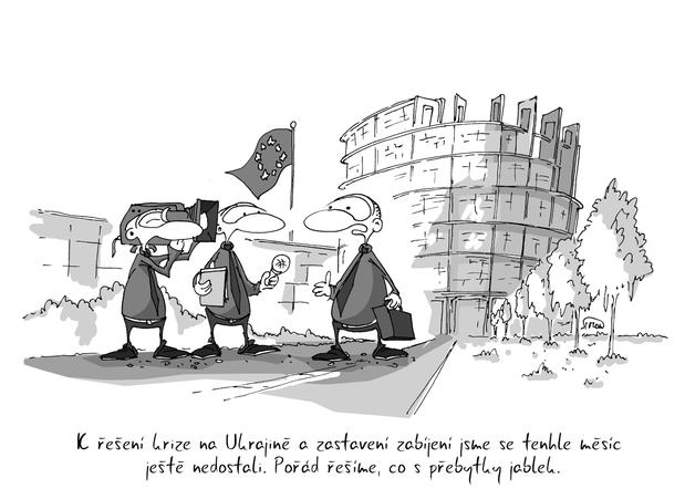 Krize Na Ukrajine A Vyssi Priority Kresleny Vtip