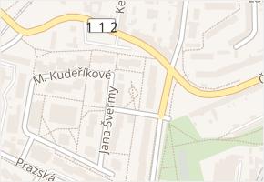 Nová pražská v obci Benešov - mapa ulice