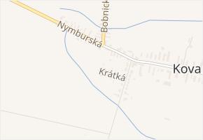 Krátká v obci Bobnice - mapa ulice