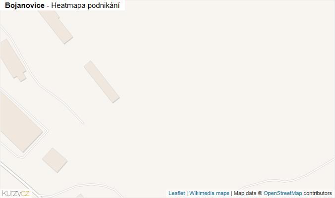 Mapa Bojanovice - Firmy v obci.