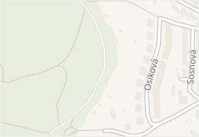 Brno-Jundrov v obci Brno - mapa městské části