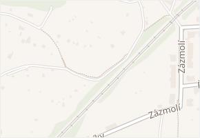 Brno-Maloměřice a Obřany v obci Brno - mapa městské části