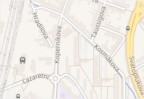 Kosmákova v obci Brno - mapa ulice